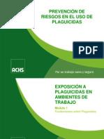 Prevención de Riesgos en El Uso de Plaguicidas p