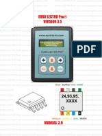 Manual Euro Lector Pro Version 3.6 (NXPowerLite)