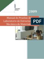 Manual de Practicas Del Laboratorio de Estructuras
