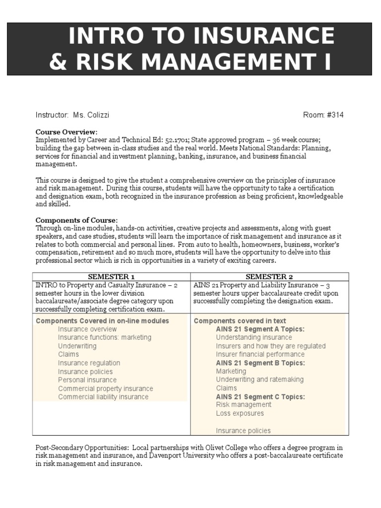 Insurance and risk management 14 underwriting insurance 1betcityfo Image collections