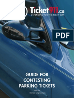 Guide for Contesting Parking Tickets