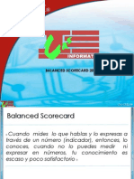 El Balanced Scorecard EBL