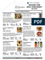 Adult Enrich Flyer Fall 2014