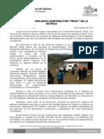 26 de octubre 2014-REFUERZA SSO VIGILANCIA SANITARIA POR _TRUDY_ EN LA MIXTECA.doc