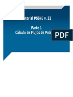 Tutorial PSS_E.parte1-Flujo de Potencia