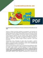 La Dieta y La Recodificación Del Adn