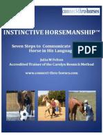 Instinctive Horsemanship