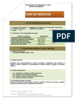 Plan de Negocio (Maximus Candy Ltda.)