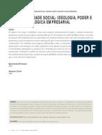 Artigo Poder e Responsabilidade Social Como Ideologia - autor Carreiri