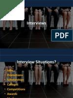 2015 - s1 - cp - week 13 - interviews