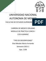 Semiologia de Craneo, torax, abdomen, pelvis