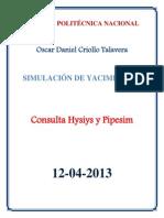OSCAR CRIOLLO consulta hysys y pipesim.docx