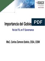 Importancia Del It Governance