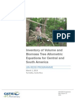 Cifuentes Jara Et Al 2013 Inventory of Volume and Biomass Tree Allometric Equations-libre