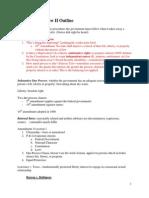 Constitutional Law II Outline- Chemerinsky