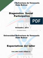Taller Diagnóstico. Proyecto Integrado