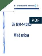 Wind Action Eurocode