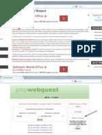 Crear Webquest en PHP Webquest