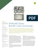BLE 1 GHz Data Sheet