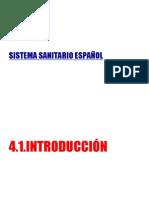 SISTEMA SANITARIO ESPAÑOL