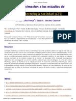 Una Aproximación Estudios CTS, Iañez