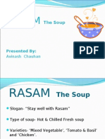Soup- The Rasam