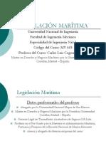 Legislación Marítima-1Int.al Derecho-2Org.mar.en El Perú-3Or