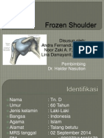 Frozen Shoulder Ppt