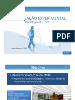 Investigação Experimental em Psicologia