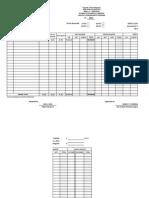 Monthly Disbursement Program