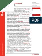 Global Macro Commentary Nov 5, 2014