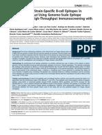 Identification of Strain-specific B-cell Epitopes in Trypanosoma Cruzi Using Genome-scale Epitope