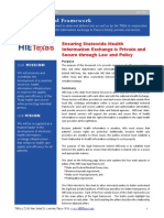 HIETexas Legal Framework