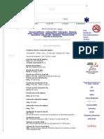 Formulas Respiratorias