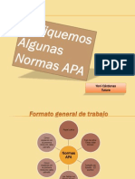 Presentacion Normas APA Portada