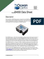 COmandos Programación USB USB4000