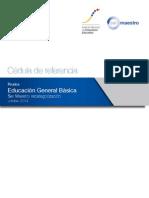 TEMAS PARA RECATEGORIZACIOIN 2014 - Educacion General Basica