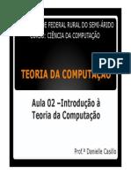 Aula 02 - Introdução à Teoria da Computação.pdf