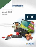 OSIPTEL Gestion_2007-2012.pdf