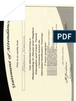 responding to abuse and neglect certificate