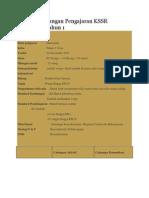 Contoh Rancangan Pengajaran KSSR Matematik Tahun 1