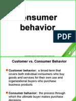 Consumer Behaviour Ppt
