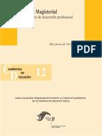 10. Carrera Magisterial Un Proyecto de Desarrollo Profesional