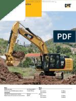 Catalogo Excavadora Hidraulica 320e Caterpillar