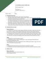 RPP Kurikulum 2013 Kelas 1 Tema 1 Subtema 1
