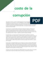 El Costo de La Corrupción