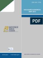 Indicadores Macro 2009-2013