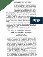 Ley Nº 17716 Reforma Agraria, 1969