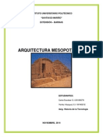 arquitectura mesopotamica