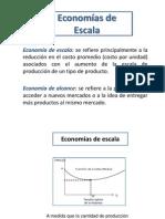 Economias de Escala y Localización
